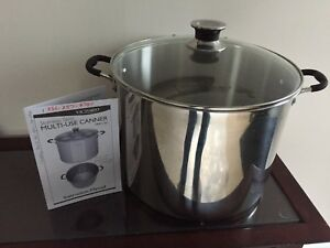 Stainless Steel Multi-Use Canner
