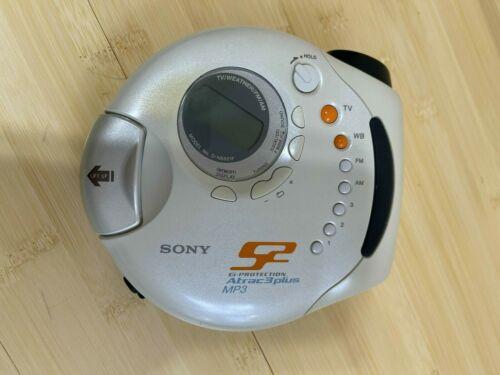 Sony D-NS921F Atrac3/MP3 CD Sports Walkman VINTAGE Tested