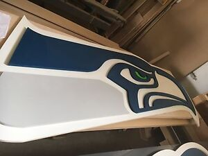 8' cnc solid wood Seahawks sign