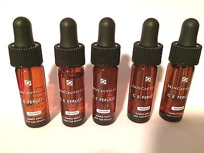 SkinCeuticals CE Ferulic Combination Antioxidant Treatment 5 Samples, Brand New