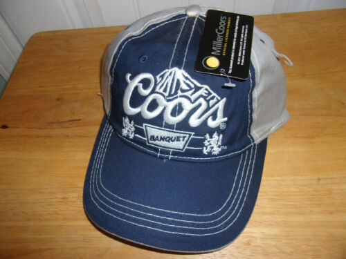 Coors Light Beer Hat Cap NWT Free Shipping!
