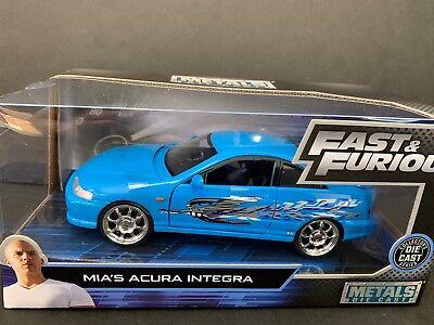 Jada Acura Integra Mia's Car Fast and Furious 30739 1/24