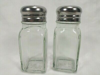 Salt And Pepper Shakers Pair Restaurant-rescue Diner Style Commercial Quality