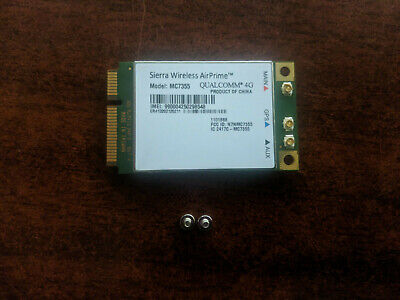 Sierra Wireless MC7355 - Panasonic Toughbook 4G LTE GOBI 5000 ATT Verizon Sprint