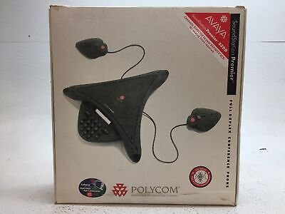Polycom Soundstation Premier Avaya 550d Conference Phone - Pulled From Working