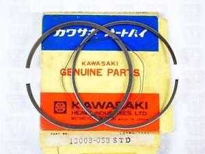 Kawasaki NOS NEW 13008-058 STD Piston Ring Set KD KE KD175 KE175 1976-79