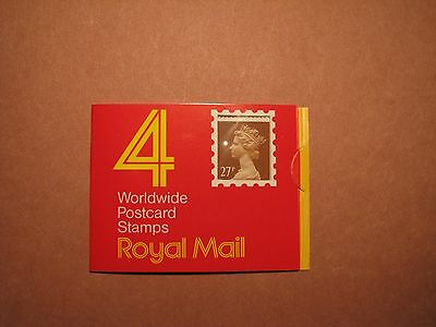 Great Britain Stamp Scott# 458 Booklet With Window  MNH C50