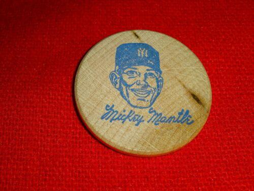 MICKEY MANTLE RAIN CHECK WOODEN NICKEL  #867