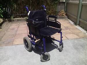 Folding Electric Power wheelchair Biggera Waters Gold Coast City Preview