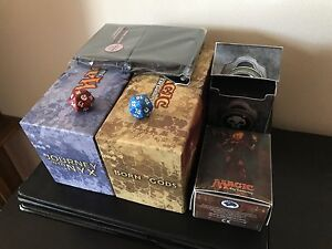 1000+ Magic The Gathering Cards - Binder, Deck Boxes, and Dice!