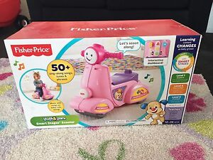New in box fisher price smart stages scooter Taylors Lakes Brimbank Area Preview