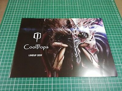 Alien and Predator CoolProps Sideshow Tokyo Comic Con Japanese 2019 Catalogue