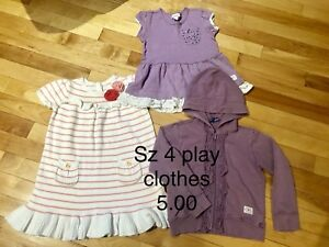 Size 4 play clothes