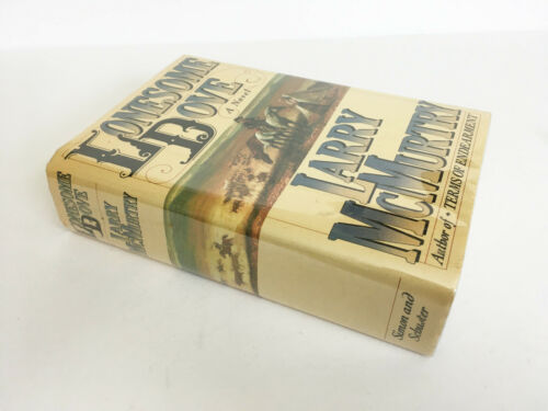 VTG 1985 Lonesome Dove Larry McMurtry 1st First Edition Signed HB Pulitzer Prize