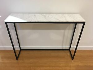 Bianco Goia Italian Marble Hall Table Custom Made Brand New Mount Lawley Stirling Area Preview