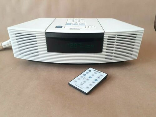 Bose Wave Radio / CD Player AWRC-1P White w Remote