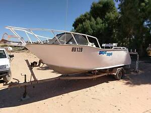 Sea Quest 5.3m Plate alloy boat / 90hp mercury Coral Bay Carnarvon Area Preview