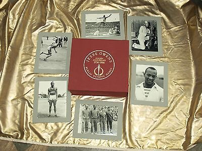 NEW ORIGINAL JESSE OWENS COLLECTORS LEICA CAMERA OUTFIT and PICTURES 1936-1986