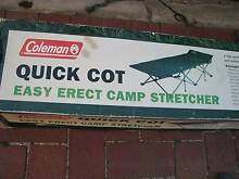 COLEMAN QUICK COT CAMP STRETCHER Enfield Port Adelaide Area Preview