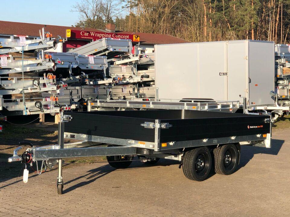 Anhänger⭐Saris Transporter PL 306 184 3500 kg 30 cm Rampenschacht in Schöneiche bei Berlin