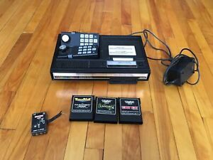 Coleco Vision Video Game System and 3 Games