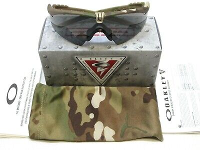 NEW MULTICAM OAKLEY SI M-FRAME 3.0 ARMY OCP SHATTERPROOF TACTICAL SUNGLASSES