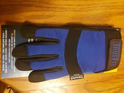 Tillman Insulated Trufit Synthetic Leather Mechanics Gloves Thinsulate 1468 Med