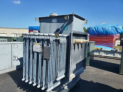 Westinghouse 1000 Kva Substation Transformer 12470 D - 480 Y 277