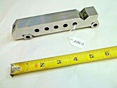 Machinist Toolmaker Sine Bar 1 Wide X 6-14 Long Made By Toolmaker Usa