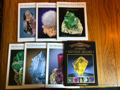 Mineralogical Record Periodical, 2010 Complete Year 7 issues
