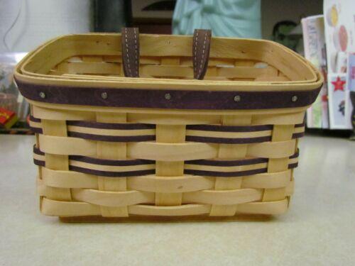 2006 Longaberger Purple Mini Wall Basket ~ New!