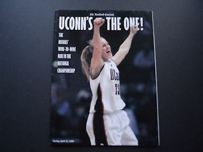 Hartford Courant Commerative Issue Uconn Women S 2000 Ncaa Basketball Championsh