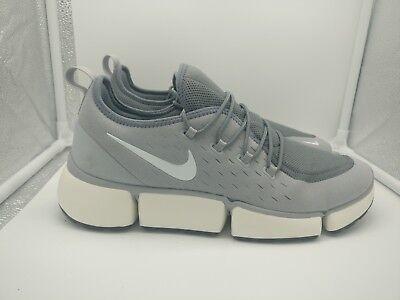 Nike Pocket Fly DM UK 9.5 Wolf Grey White Cool Grey Sail...