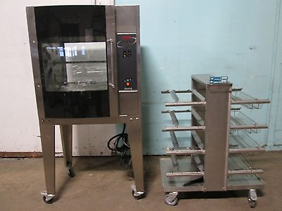 Resfab Lm-24a Hd Commercial 3ph Electric Digital Chickenrib Rotisserie Oven