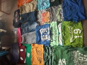 Big bag of boy's brand name clothes sz.10-12 asking $ 40.00
