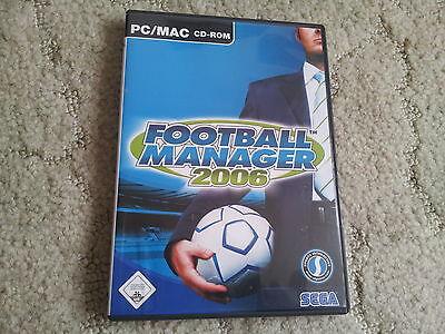 Football Manager 2006 für PC/MAC