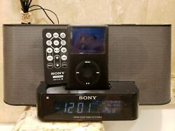 SONY Dream Machine ICF-C1iPMK2 FM/AM Alarm Clock Radio w/ iPod Dock & Remote