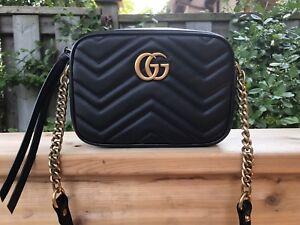 Gucci GG Marmont Matelasse Mini Bag in Black