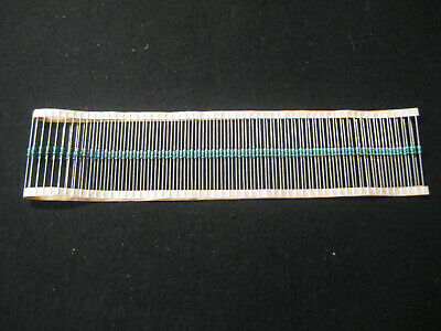 5043ed750r0f12af5 Vishay 750 Ohms 1 0.4w Resistors Axial Lot Of 100
