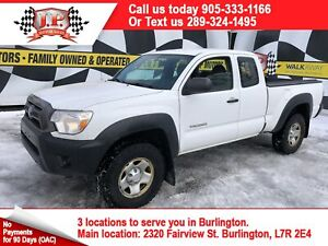 2013 Toyota Tacoma Extended Cab, Automatic, 4*4, 104,000km