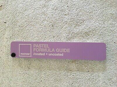Pantone Pastel Formula Guide Coated Uncoated