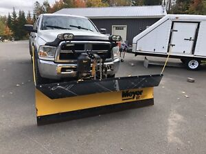 2010 Dodge Ram 2500 with 8' Meyer plow
