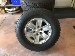 Snow tires & wheels for sale 270 70 R17