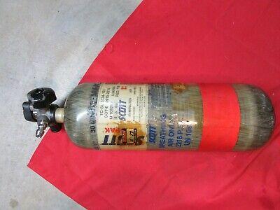 Nxg2 Scott 2216 Psi 30 Min Scba Air Cylinder Snapquick Change Valve Mfr 2005