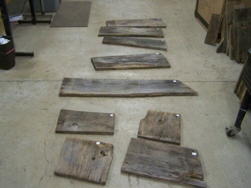 Appalachian Reclaimed Rustic Barn Wood Uncut End Pieces Boards Weathered Lumber