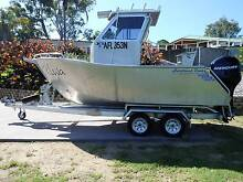 CUSTOM BUILT BY PREDITOR BOATS 5.3 PLATE ALLOY. Tuross Head Eurobodalla Area Preview