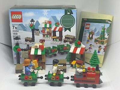 2017 Lego 40262 Christmas Train Ride 169 Pieces Complete With Instructions