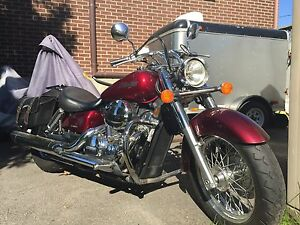 Honda Shadow 750 (2004) Rouge (Bourgogne) 39000km