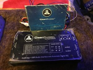 JL Audio Cleansweep EQ/Line Driver and Kinetic Dry Cell AGM