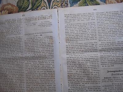 1843 Zeitung ...Juden 26 / Berlin Freimaurer und Juden / KOlberg